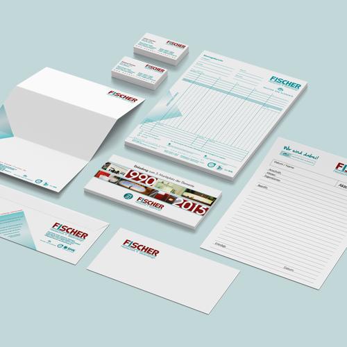 Geschäftspapier Roland Fischer GmbH | Mediendesign