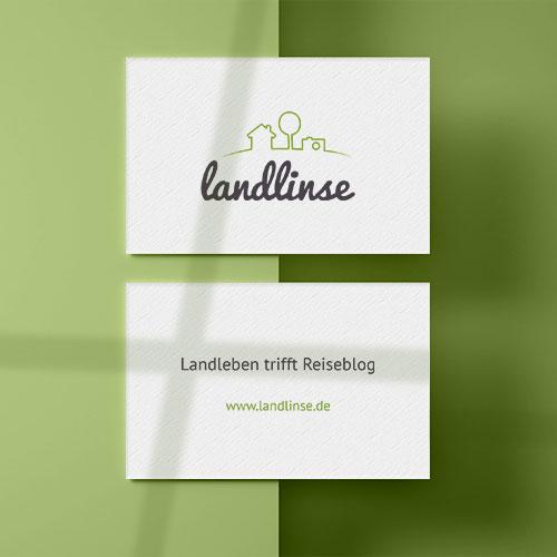 Visitenkarten Landlinse