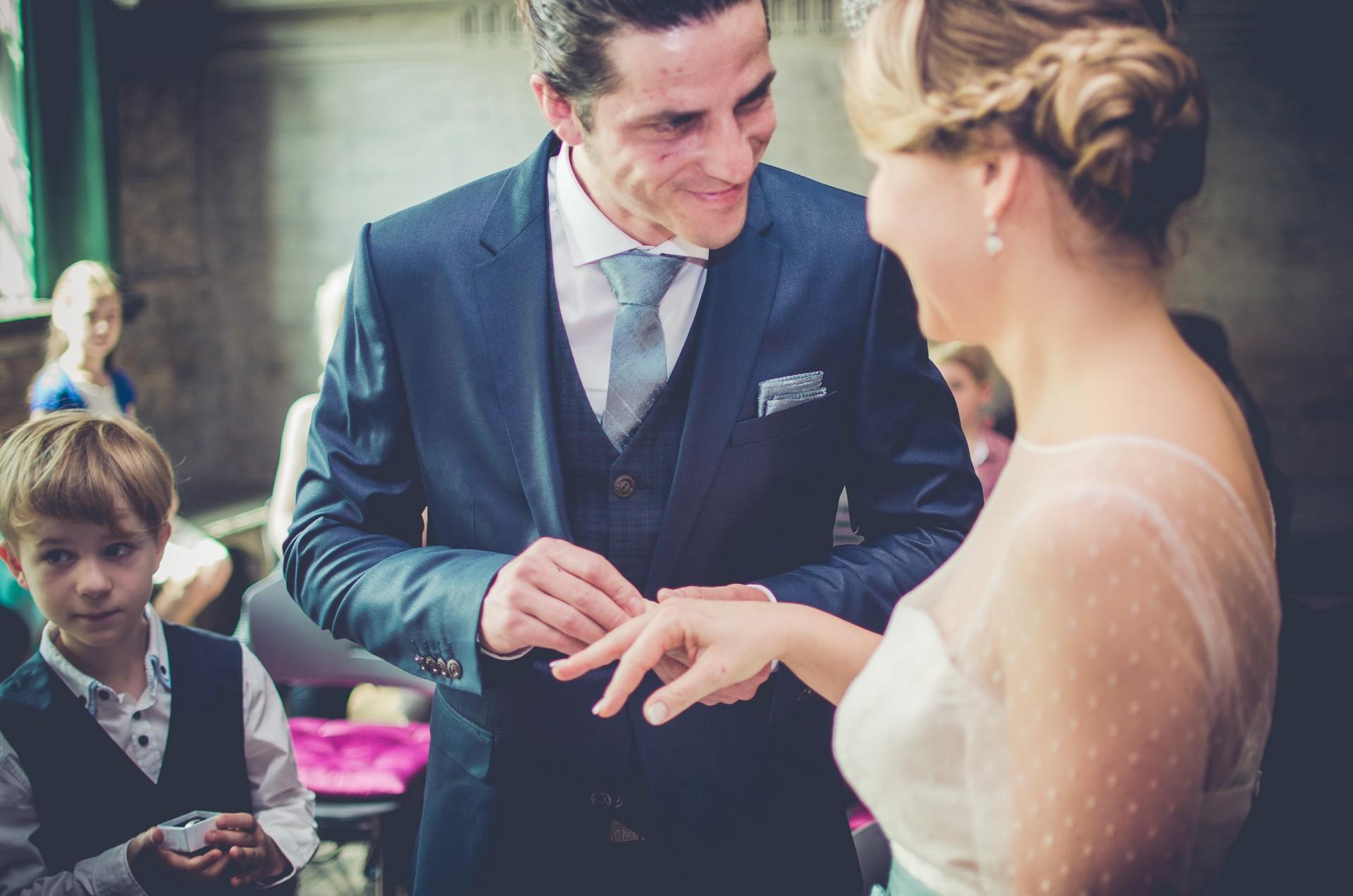 Hochzeitsfotografie im Standesamt