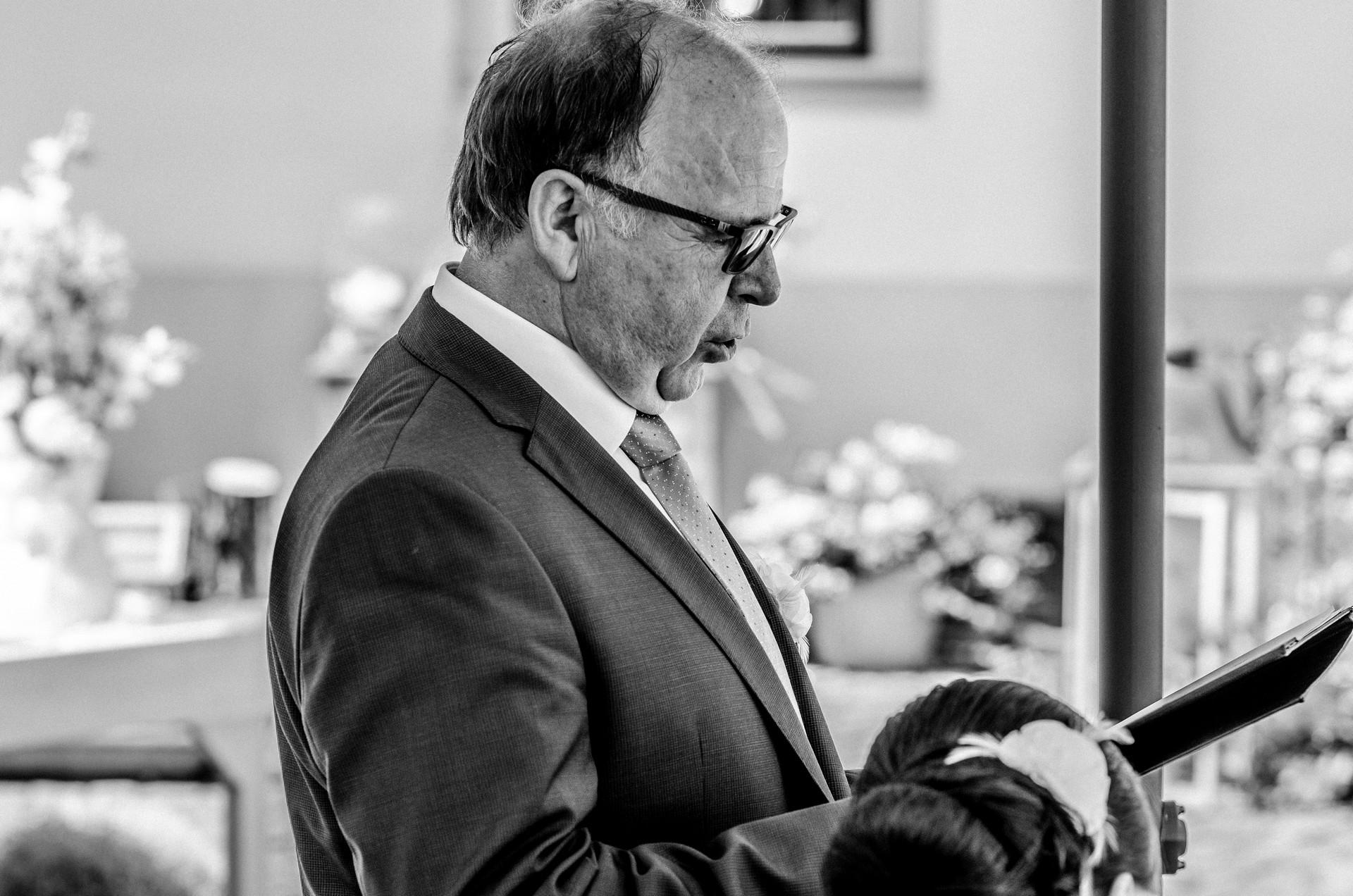 Hochzeitsfotografie Rede